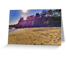 Cliffs Greeting Card