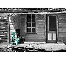 The Green Chair Photographic Print