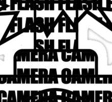 Camera SLR Flash Sticker