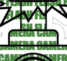Camera SLR Flash_Green Sticker