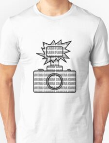 Camera SLR Flash_Grey T-Shirt