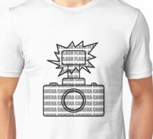 Camera SLR Flash_Grey Unisex T-Shirt