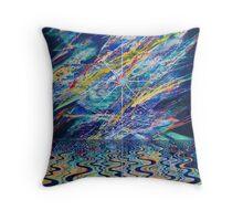 Zen Carnival Throw Pillow