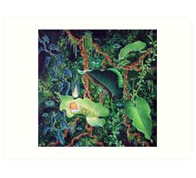 Rebirth in the Jungle Art Print