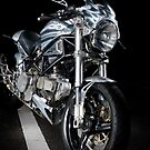 Ducati Monster Custom Cafe Racer by Frank Kletschkus