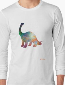Space Diplodocus T-shirt Long Sleeve T-Shirt