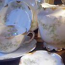 Grannies Dishes by WildestArt