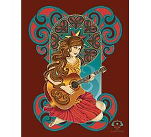 Acoustic Girl Photographic Print