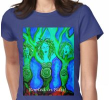 """""""Tree Goddess"""" for wear! Womens Fitted T-Shirt"""