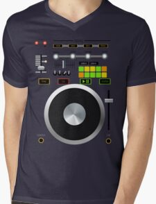 Mix-Tape Mens V-Neck T-Shirt
