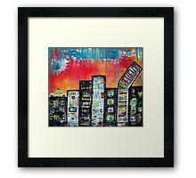 In The City 1 Framed Print