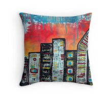 In The City 1 Throw Pillow