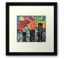 In The City 2 Framed Print