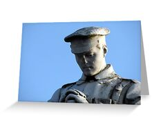 153 - PENYCAE WAR MEMORIAL, NEAR WREXHAM, WALES (D.E. 2013) Greeting Card