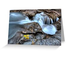 Natural Bridge Yoho National Park British Columbia Canada Greeting Card