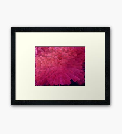 Multiple purple Framed Print