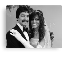 Bride&Groom Canvas Print