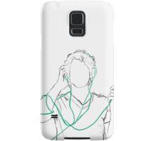 Tangled Headphones Samsung Galaxy Case/Skin