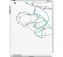 Tangled Headphones iPad Case/Skin