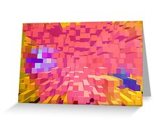 Many colours in columns. Greeting Card