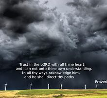 Proverbs Storm Clouds Saskatchewan by pictureguy