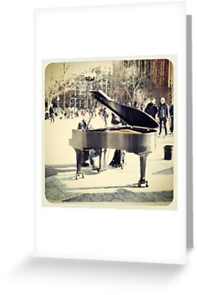 Classical Tunes In The Park by Mary Mathers