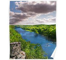 Oklahoma Mountain Fork River Poster