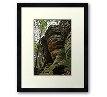 Stone Giants Framed Print
