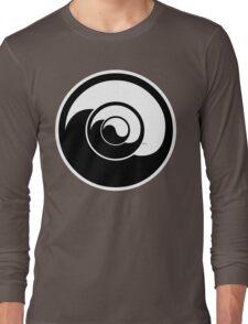Yin Yang Design Long Sleeve T-Shirt