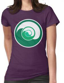 Yin Yang Design Womens Fitted T-Shirt
