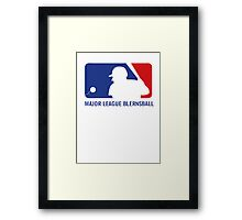 Major League Blernsball Framed Print