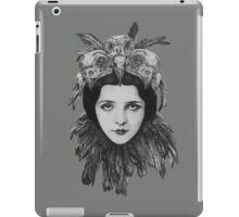 Dame Bird Skull iPad Case/Skin