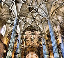 Jeronimos Monastery in Lisbon, Portugal by vribeiro