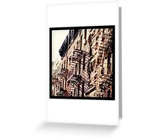 NYC Residents Greeting Card