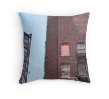 An Old Brick Building Throw Pillow