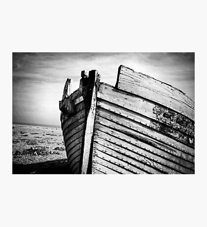 An old wreck Photographic Print