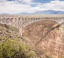 Bridge Over The Rio Grande River Gorge by Robert Kelch, M.D.