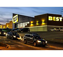Best Buy Photographic Print