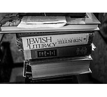 Jewish Literacy Photographic Print