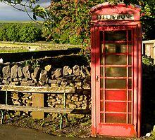 Village telephone box by Greg  Walker