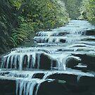 Leura Cascades, Blue Mountains by enumerart