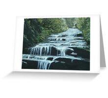 Leura Cascades, Blue Mountains Greeting Card