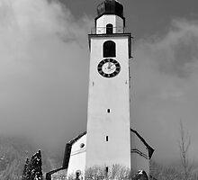 Reformierte Kirche Andeer, Schweiz by itchingink