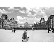 Day of Louvre Photographic Print