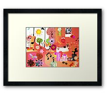 Party Time!! Framed Print