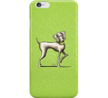Weimaraner Playtime iPhone Case/Skin