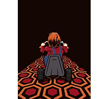 The Shining  Danny Torrance Go Kart Photographic Print