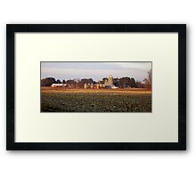 Farms of Wisconsin Framed Print