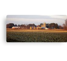 Farms of Wisconsin Canvas Print