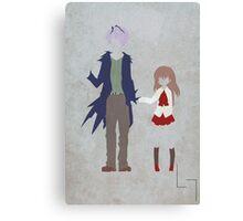 Garry & Ib Canvas Print